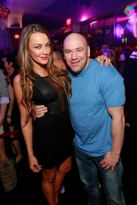 Dana White parties at Hyde Bellagio, Las Vegas