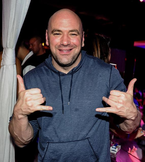 Ultimate Fighting Championship (UFC) President Dana White at PURE Nightclub