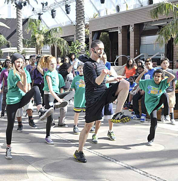 Dance Against Obesity Camp J.U.M.P. Takes Over Marquee