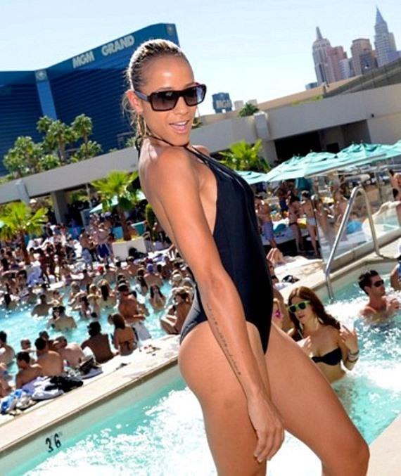 Dania Ramirez at WET REPUBLIC