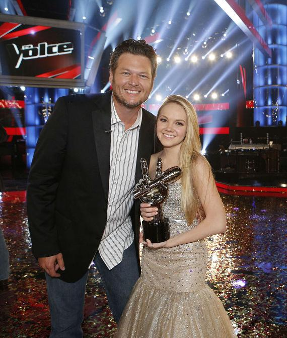 "Danielle Bradbery on NBC's ""The Voice"""