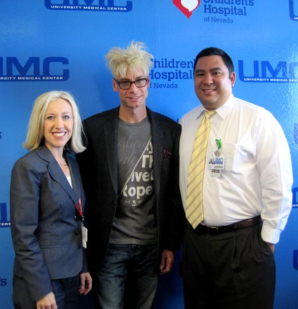 Danita Cohen (Director of Strategic Development), Murray SawChuck and Lawrence Barnard (Chief Operating Officer) of UMC