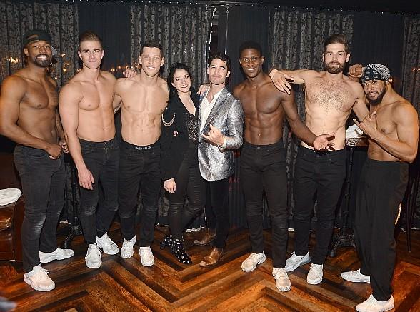 "Darren Criss Attends ""Magic Mike Live"" at Hard Rock Hotel & Casino in Las Vegas"