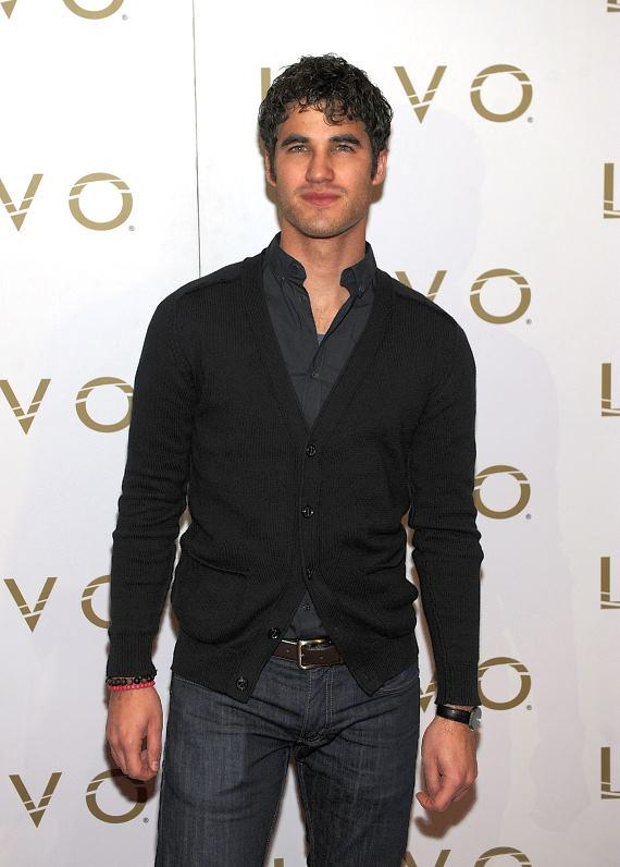 Darren Criss on LAVO red carpet