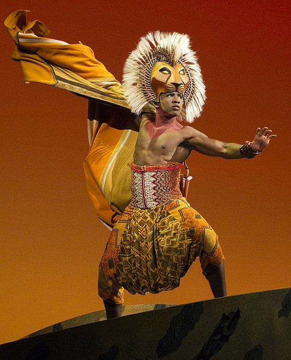 "Dashaun Young as ""Simba"" in ""The Lion King"" North American Tour."