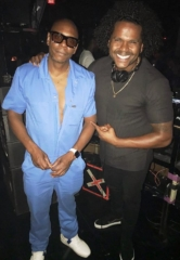 Actor/Comedian Dave Chappelle Spotted at Beauty & Essex and Marquee in Las Vegas
