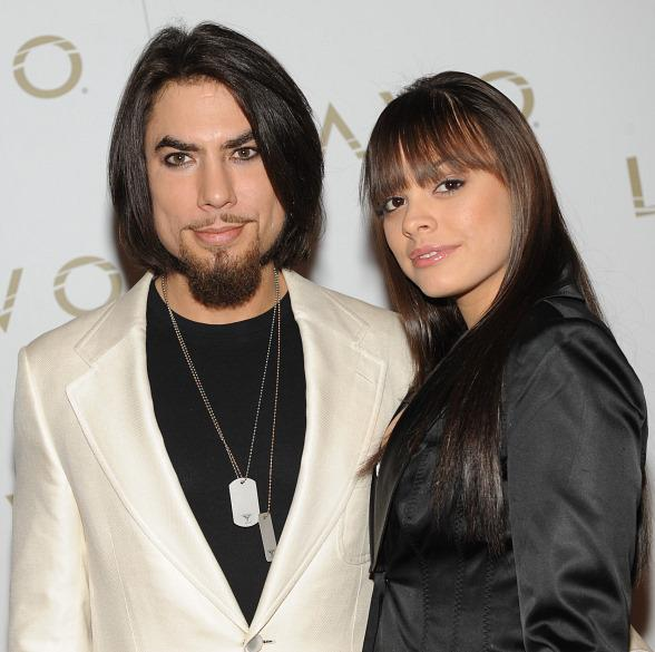 Dave Navarro and Renee Perez at LAVO