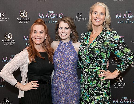 Westgate Las Vegas and The Magic of Jen Kramer Announce Residency Extension; Las Vegas' Only Female Headlining Magician Continues to Impress at the Westgate Cabaret