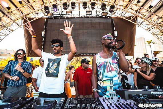 Jamie Jones and Curtis Jones aka Green Velvet