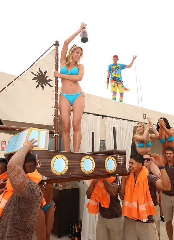 Daylight Beach Club at Mandalay Bay on Friday, April 4