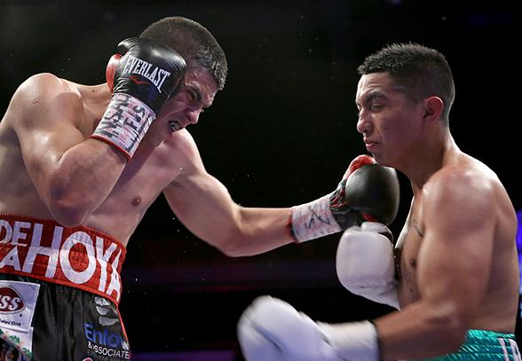 Diego De La Hoya Shines in his Grand Return to Las Vegas