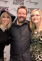 "Pop star Debbie Gibson attends Terry Fator's ""A Very Terry Christmas"" at The Mirage"