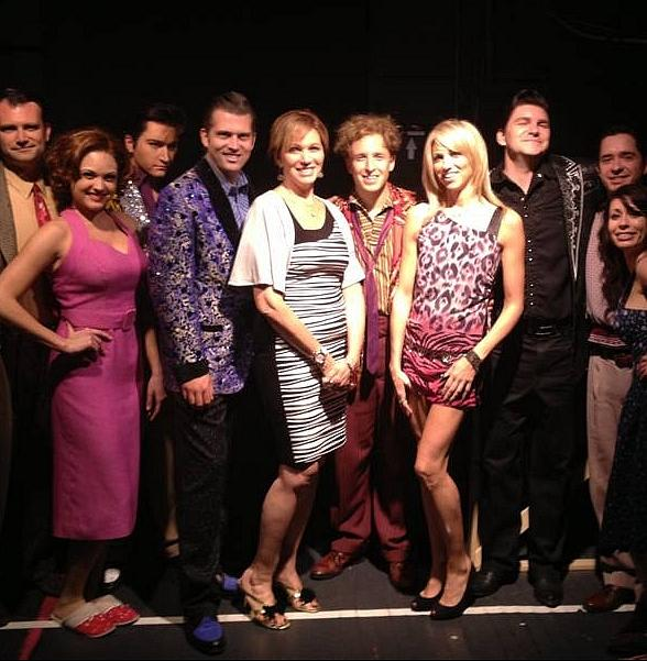 Singer-Songwriter Debbie Gibson attends Million Dollar Quartet at Harrah's Las Vegas