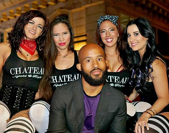 UFC Champ Demetrious Johnson Hosts After-Party at Chateau Nightclub & Rooftop at Paris Las Vegas