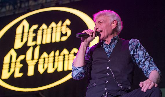 Dennis DeYoung, lead singer of Styx, at DLVEC