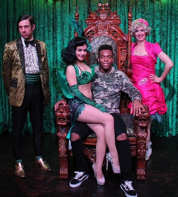 Denver Broncos Linebacker Brandon Marshall Attends ABSINTHE at Caesars Palace in Las Vegas
