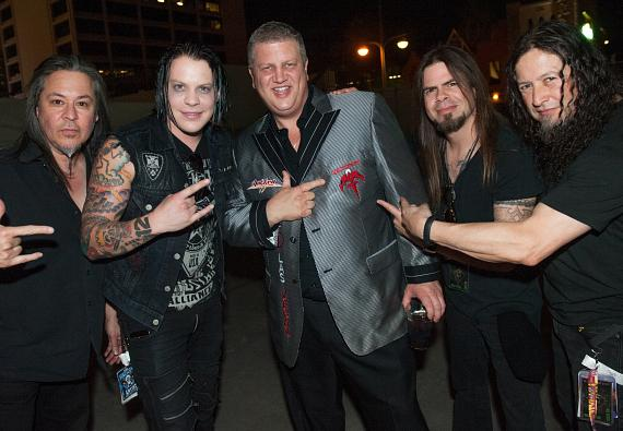 Derek Stevens and Queensryche at DLVEC