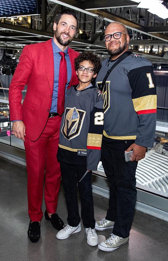 """Deryk Engelland and Carnell """"Golden Pipes"""" Johnson at Hyde Lounge"""