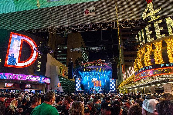 Chart-Topping Country Music Group Diamond Rio Delivers Booming Performance on Fremont Street Experience During 16th Annual RaceJam Concert