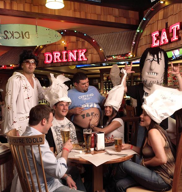 Celebrate Oktoberfest at Dick's Last Resort October 2-6