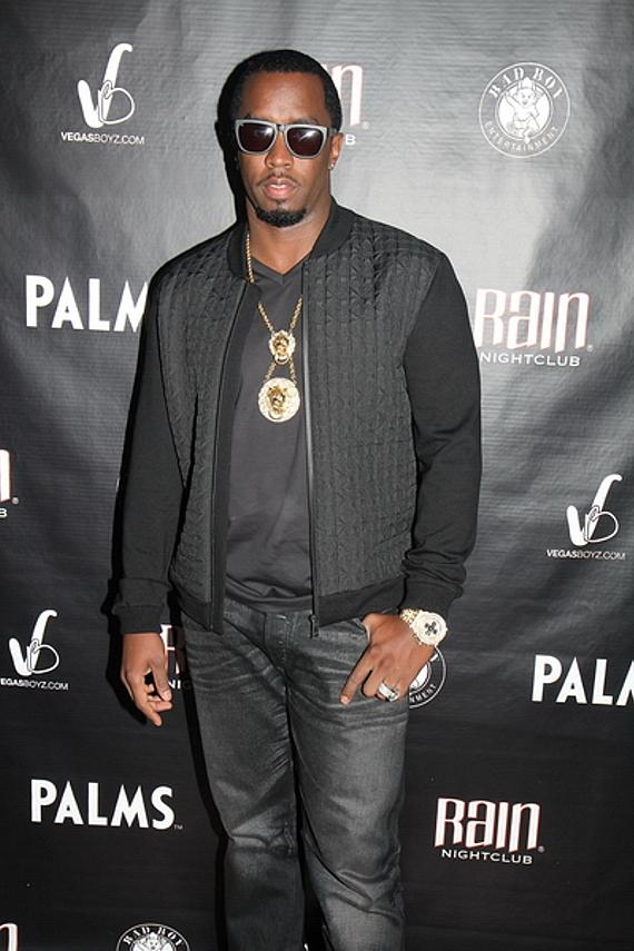 Diddy at Rain Nightclub