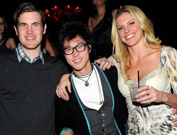 Director Jamie Linden with Aaron Yoo and Kelly Noonan