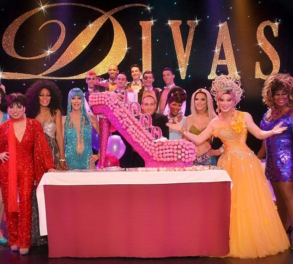 "Frank Marino Celebrates 1,000th Show of ""Divas Las Vegas"" at Imperial Palace"