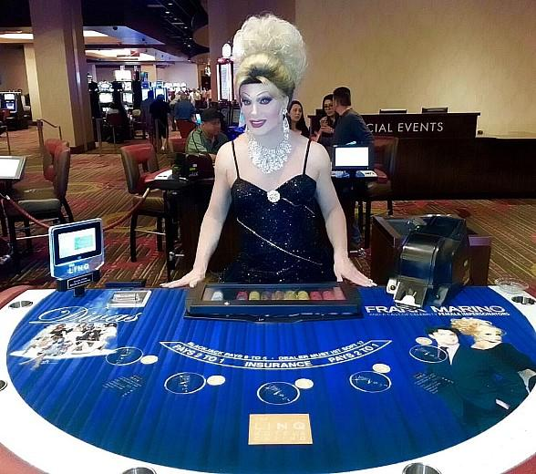 "Frank Marino Unveils ""Divas Las Vegas"" Blackjack Tables and Gaming Pit at The LINQ Hotel & Casino"