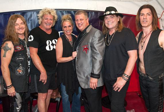 Dokken with Nicole Parthum & Derek Stevens at DLVEC