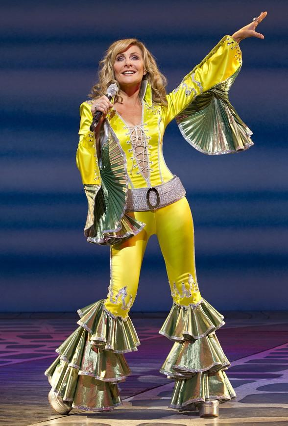 Judy McLane as Donna Sheridan in MAMMA MIA! on Broadway