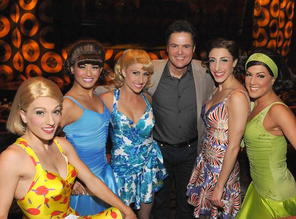 Donny Osmond Attends Viva ELVIS by Cirque du Soleil at ARIA Resort & Casino