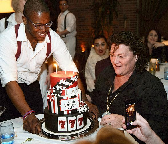 Dot Marie Jones Celebrates her Birthday at LAVO