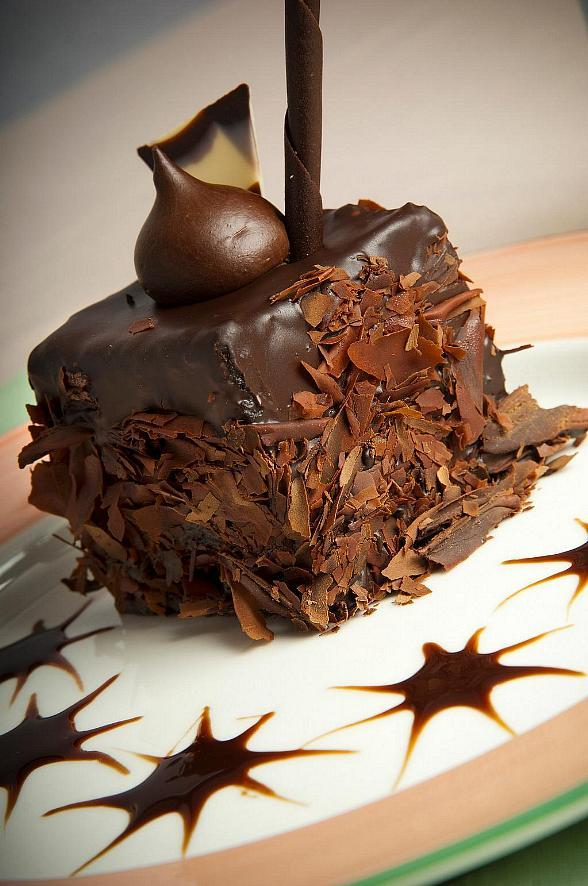 Try this Delicious Double Chocolate Ice Box Cake at The Coffee Shop in Treasure Island