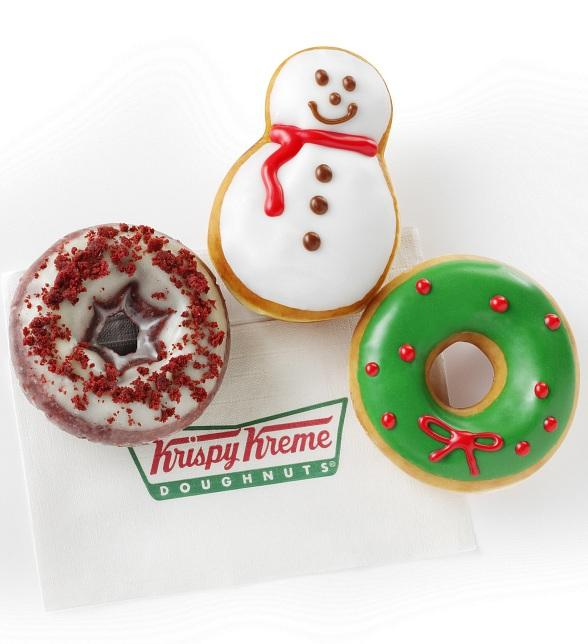 Krispy Kreme to Savor the Season with Holiday Doughnut Selection