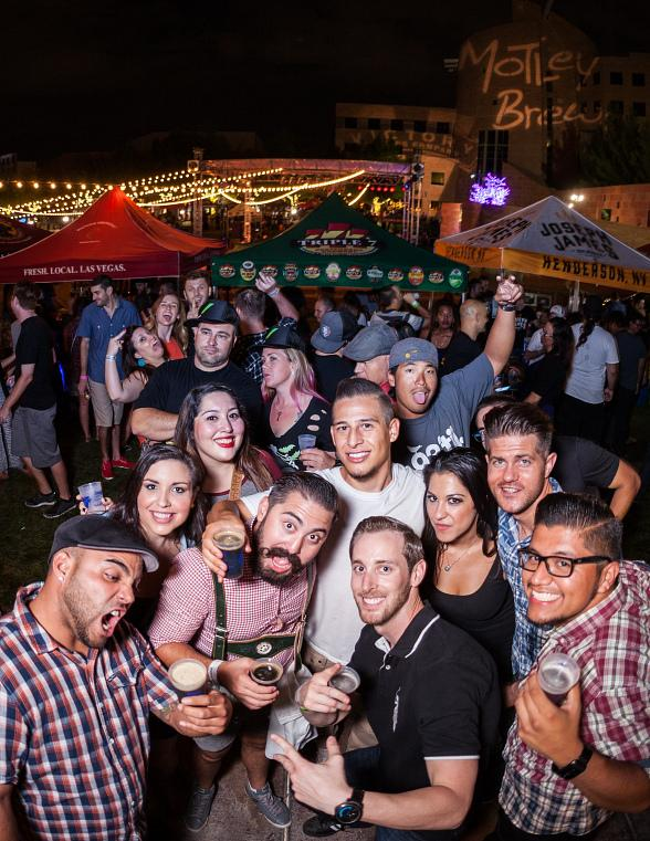 Thousands of Craft Beer Enthusiasts Flock to Clark County Amphitheater During Third Annual Downtown Brew Festival