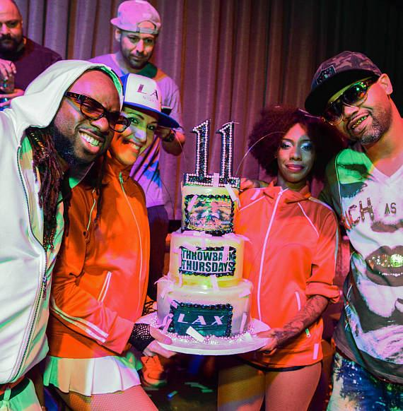 Drae Jackson and Juvenile Celebrate 11 Years of Collaboration at LAX Nightclub inside Luxor Hotel and Casino