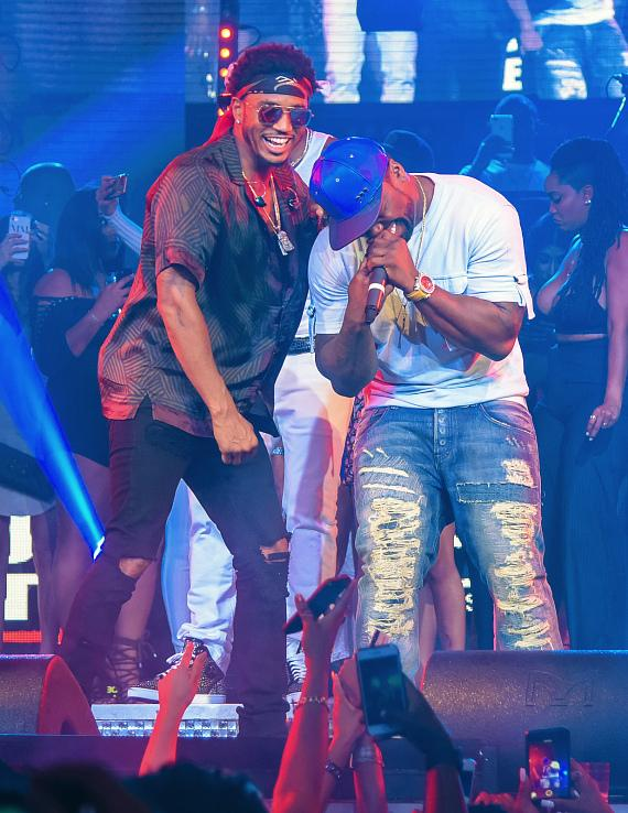 Drai's LIVE Presents 50 Cent and Trey Songz Fight Weekend at Drai's Nightclub Las Vegas