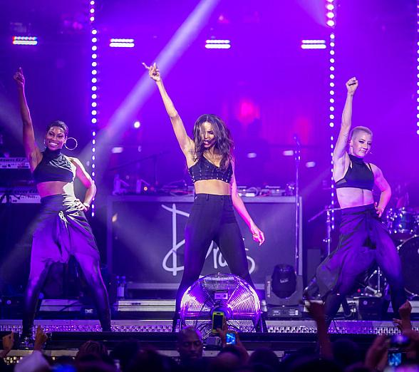 Hip-hop artist Ciara performs at Drai's Nightclub Las Vegas