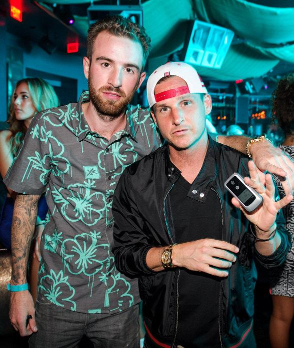 Drama and Rob Dyrdek at Marquee Nightclub