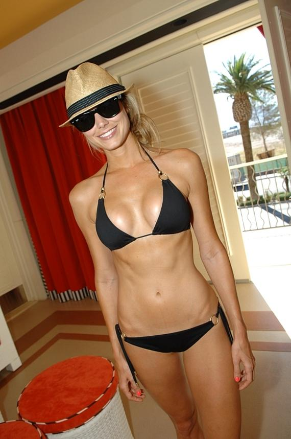 Stacy Keibler at Encore Beach Club