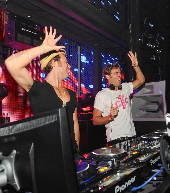 EC Twins Spin at Marquee Nightclub