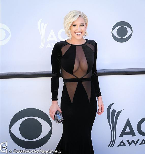 Savannah Chrisley attends the 52nd Academy Of Country Music Awards