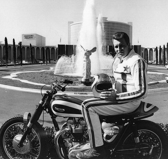 Evel Knievel at Caesars Palace in Las Vegas