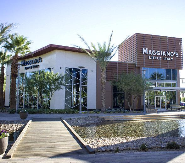 DC Building Group Completes Maggiano's Little Italy Restaurant at Downtown Summerlin