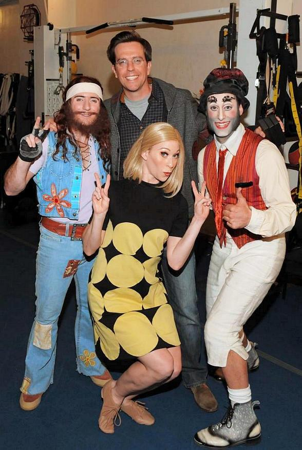 Hangover Actor Ed Helms Attends The Beatles LOVE by Cirque du Soleil