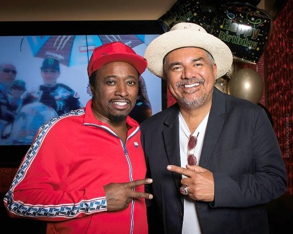Eddie Griffin Celebrates His 50th Birthday with a Surprise Party at El Dorado Cantina in Las Vegas