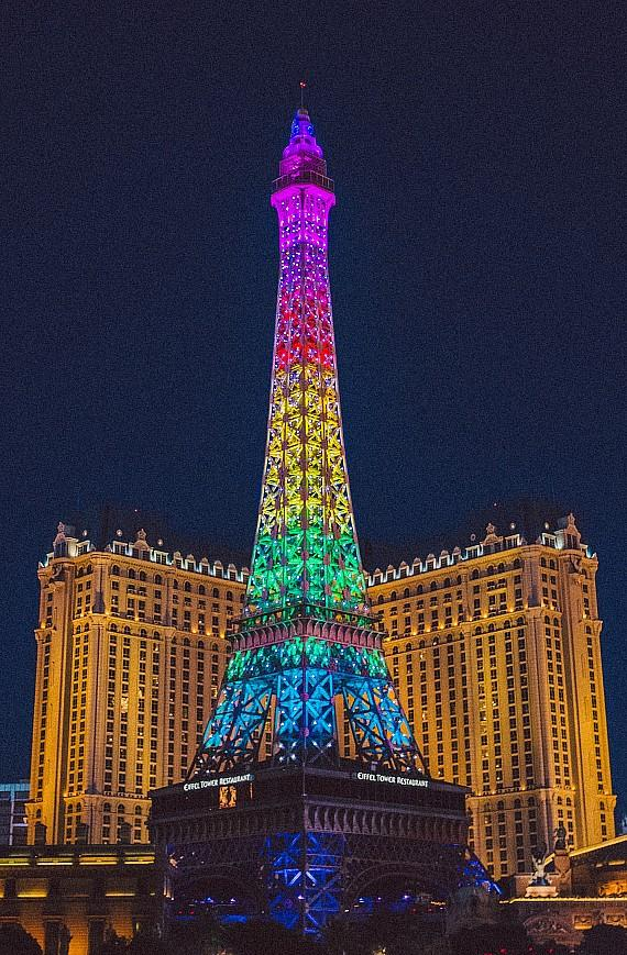 Eiffel Tower at Paris Las Vegas