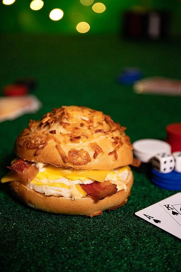 """The Strip's First Einstein Bros. Bagels Rolls Out a Vegas-Only Sandwich """"The All Knighter"""""""