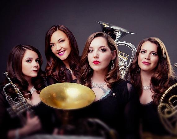 Electra Brass Debuts Tonight  (June 16) at Sunset Station with Lon Bronson