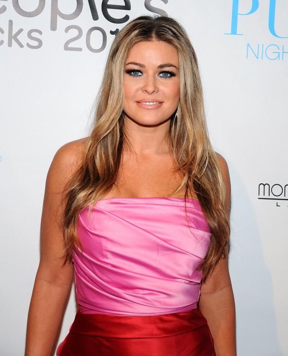 Carmen Electra on red carpet at PURE Nightclub